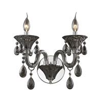 Nulco by ELK Lighting Formont 2 Light Wall Sconce in Smoke Plated 80010/2 photo thumbnail