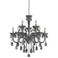 Nulco by ELK Lighting Formont 9 Light Chandelier in Smoke Plated 80013/6+3