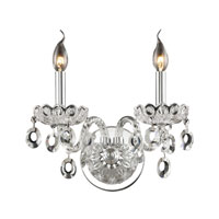 Balmoral 2 Light 13 inch Clear Wall Sconce Wall Light