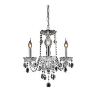 Nulco by ELK Lighting Balmoral 3 Light Chandelier in Clear 80031/3