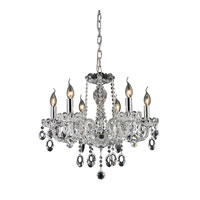 Nulco by ELK Lighting Balmoral 6 Light Chandelier in Clear 80032/6