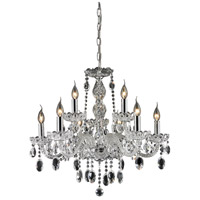 Nulco by ELK Lighting Balmoral 9 Light Chandelier in Clear 80033/6+3
