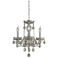 Nulco by ELK Lighting Balmoral 3 Light Chandelier in Teak Plated 80051/3