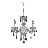 Cotswold 3 Light 16 inch Clear Chandelier Ceiling Light