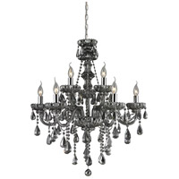 Nulco by ELK Lighting Cotswold 9 Light Chandelier in Smoke Plated 80073/6+3 photo thumbnail