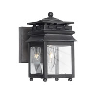 ELK Lighting Lancaster 1 Light Outdoor Sconce in Charcoal 801-C