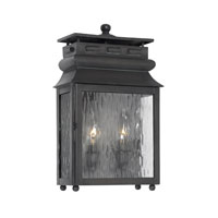 ELK Lighting Lancaster 2 Light Outdoor Sconce in Charcoal 802-C