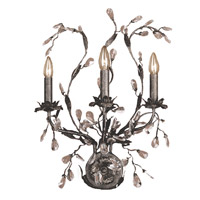 Circeo 3 Light 17 inch Deep Rust Sconce Wall Light