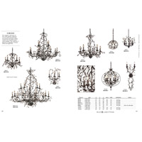 ELK 8053/5 Circeo 5 Light 21 inch Deep Rust Chandelier Ceiling Light alternative photo thumbnail