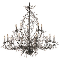 ELK 8056/10+5 Circeo 15 Light 54 inch Deep Rust Chandelier Ceiling Light