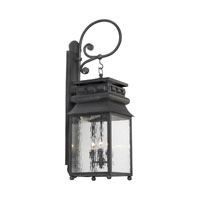 ELK Lighting Lancaster 3 Light Outdoor Sconce in Charcoal 806-C