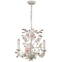 Heritage 3 Light 18 inch Cream Chandelier Ceiling Light