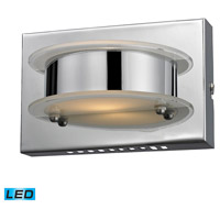 ELK 81010/1 Northholt LED 7 inch Chrome Vanity Wall Light