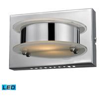 ELK 81010/1 Northholt LED 7 inch Chrome Vanity Wall Light