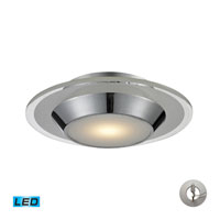Nulco by ELK Lighting Brentford LED Flush Mount in Chrome 81060/1-LA