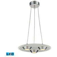 Nulco by ELK Lighting Brentford LED Pendant in Chrome 81062/3