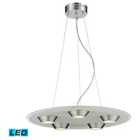 ELK 81063/5 Brentford LED 22 inch Chrome Pendant Ceiling Light