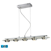 Nulco by ELK Lighting Brentford LED Pendant in Chrome 81064/5