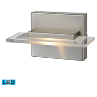 ELK 81070/1 Linton LED 8 inch Satin Nickel Vanity Wall Light