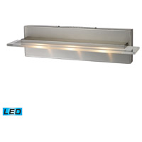 Nulco by Elk Lighting Linton 3 Light Vanity in Satin Nickel 81072/3