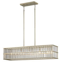 ELK 81096/5 Ridley 5 Light 36 inch Aged Silver Chandelier Ceiling Light