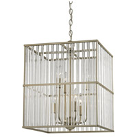 ELK 81097/6 Ridley 6 Light 16 inch Aged Silver Chandelier Ceiling Light