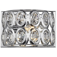 ELK 81150/1 Tessa 1 Light 8 inch Polished Chrome Vanity Light Wall Light