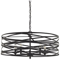 Vorticy 5 Light 26 inch Oil Rubbed Bronze Chandelier Ceiling Light