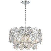 ELK 81235/4 Lavique 4 Light 19 inch Polished Chrome Chandelier Ceiling Light