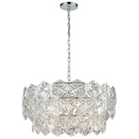 ELK 81236/5 Lavique 5 Light 25 inch Polished Chrome Pendant Ceiling Light