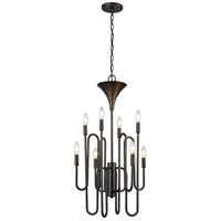 ELK 81286/8 Decatur 8 Light 19 inch Oil Rubbed Bronze Chandelier Ceiling Light