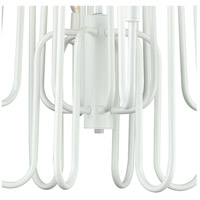 ELK 81297/12 Decatur 12 Light 22 inch Matte White Chandelier Ceiling Light alternative photo thumbnail