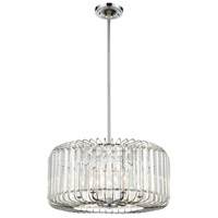 Beaumont 6 Light 21 inch Polished Chrome Pendant Ceiling Light