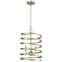 ELK 81353/3 Whirlwind 3 Light 13 inch Aged Silver Pendant Ceiling Light