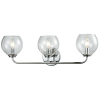 Emory 3 Light 26 inch Polished Chrome Vanity Wall Light