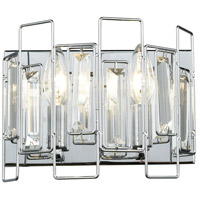 ELK 81370/2 Crosby 2 Light 9 inch Polished Chrome Vanity Light Wall Light