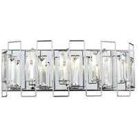 Crosby 3 Light 18 inch Polished Chrome Vanity Light Wall Light