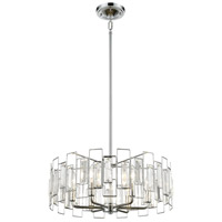 Crosby 6 Light 20 inch Polished Chrome Pendant Ceiling Light