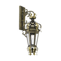 ELK Lighting Coronado 1 Light Outdoor Sconce in Castle Bronze 8145-CB