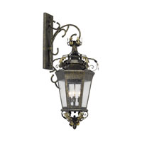 ELK Lighting Coronado 3 Light Outdoor Sconce in Castle Bronze 8146-CB