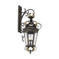 Coronado 4 Light 52 inch Castle Bronze Outdoor Sconce