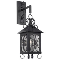 ELK 8150-E Columbian 1 Light 24 inch Espresso Outdoor Sconce