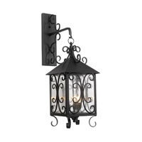 ELK Lighting Columbian 3 Light Outdoor Sconce in Espresso 8151-E