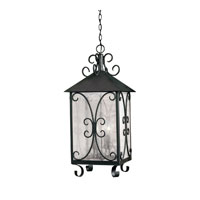 ELK Lighting Columbian 4 Light Outdoor Pendant in Espresso 8154-E