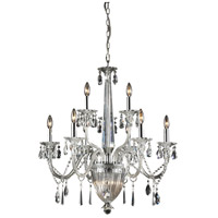 Nulco by Elk Lighting Banburgh 9 + 3 Light Chandlelier in Chrome 82013/3+6+3