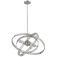 ELK 82030/6 Saturn 6 Light 24 inch Chrome Chandelier Ceiling Light