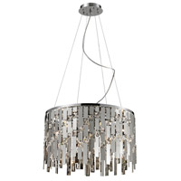 ELK 82035/9 Kingshill 9 Light 19 inch Chrome Pendant Ceiling Light