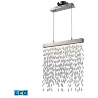 Nulco by Elk Lighting Chalfont 2 Light Pendant in Chrome 82038/2