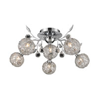Nulco by ELK Lighting Sonne 6 Light Flush Mount in Chrome 82041/6