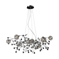 Nulco by ELK Lighting Sonne 8 Light Chandelier in Chrome 82042/8